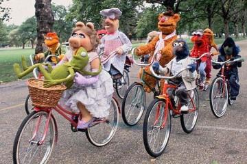 muppets bike